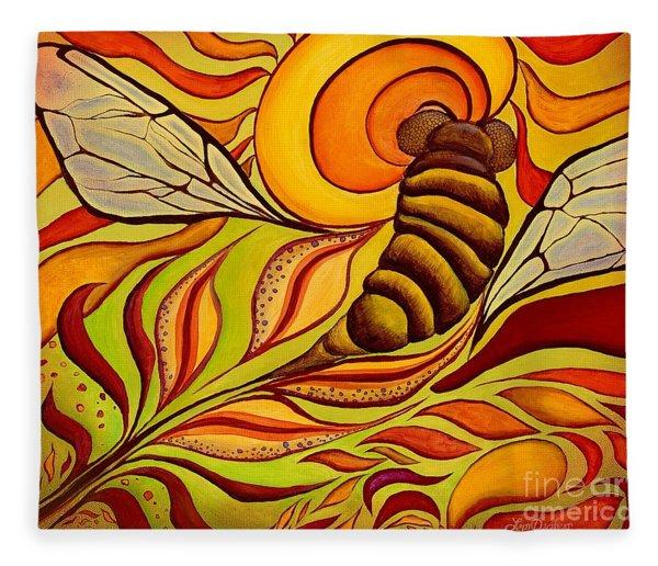 Wings Of Change Fleece Blanket