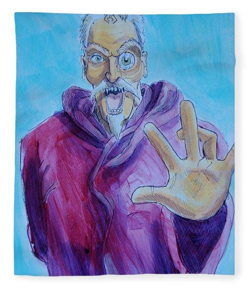 Wizard Fleece Blanket