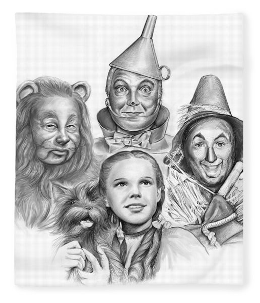 Wizard Of Oz Fleece Blanket