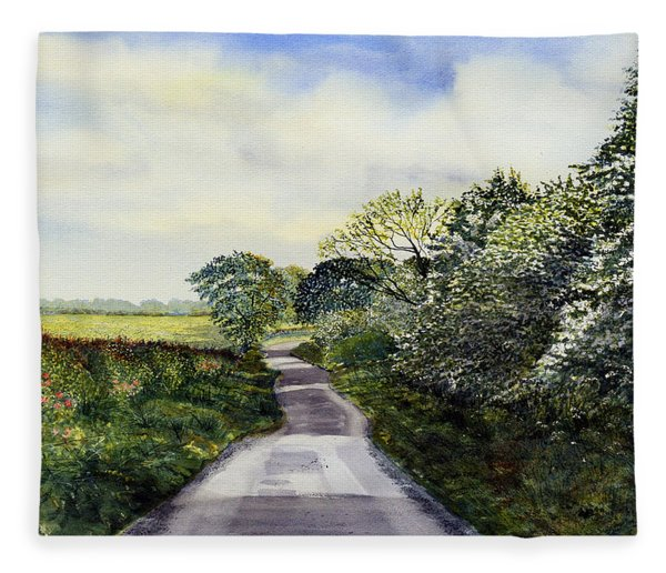 Woldgate - Late Spring Fleece Blanket
