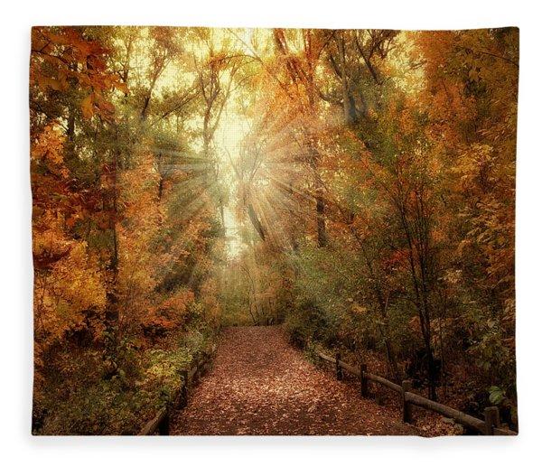 Woodland Light Fleece Blanket