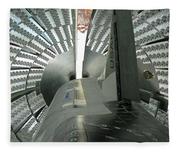 X-37b Orbital Test Vehicle Fleece Blanket