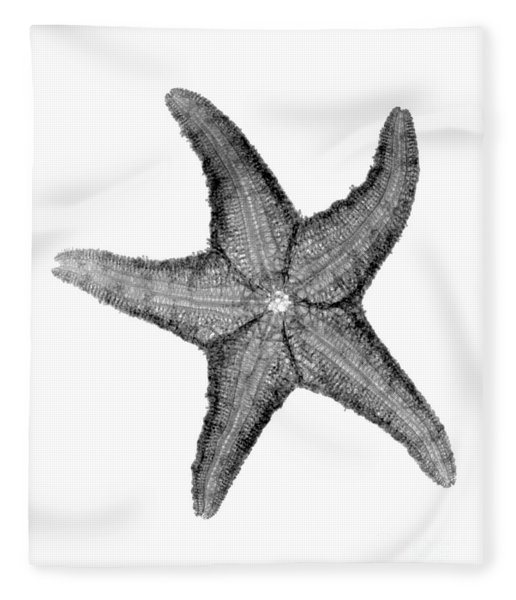 X-ray Of Starfish Fleece Blanket