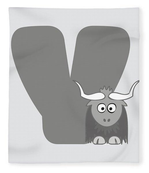 Y Fleece Blanket