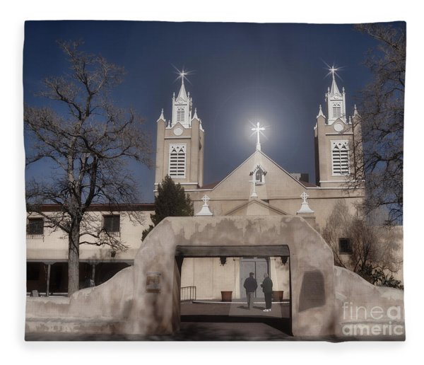 A Blessed Couple Fleece Blanket