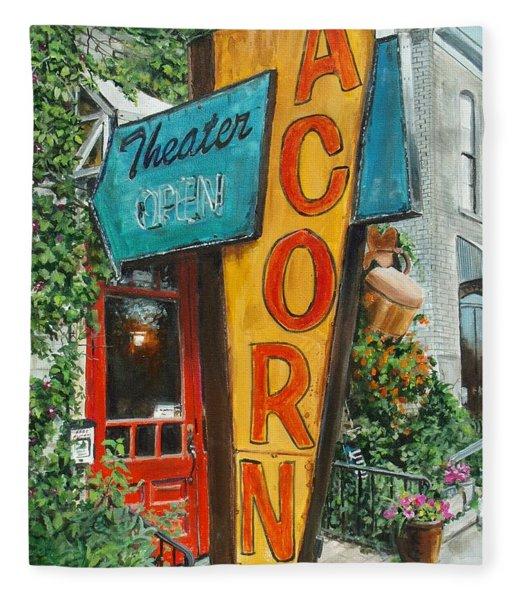 Acorn Theater Fleece Blanket