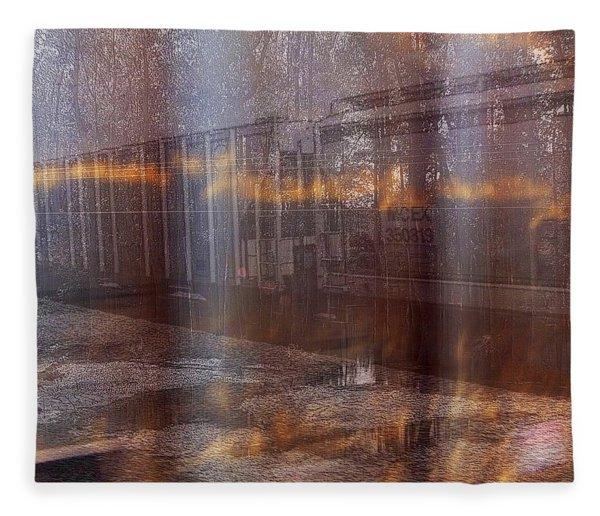 Asphalt Series - 1 Fleece Blanket