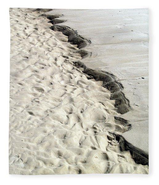 Beach Sand Fleece Blanket