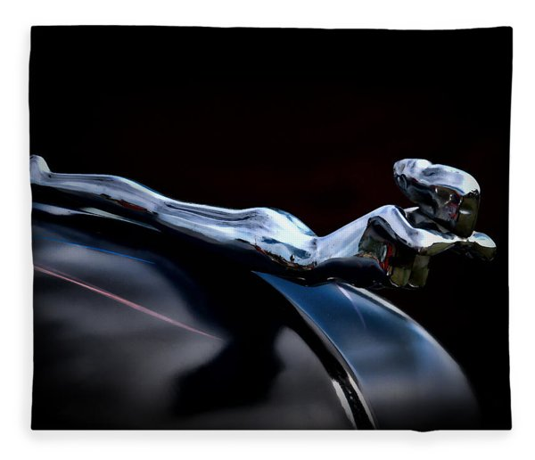 Chrome Angel Fleece Blanket