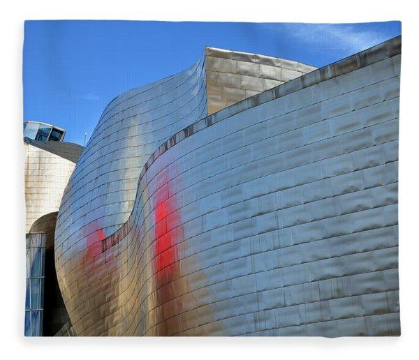 Guggenheim Museum Bilbao - 3 Fleece Blanket