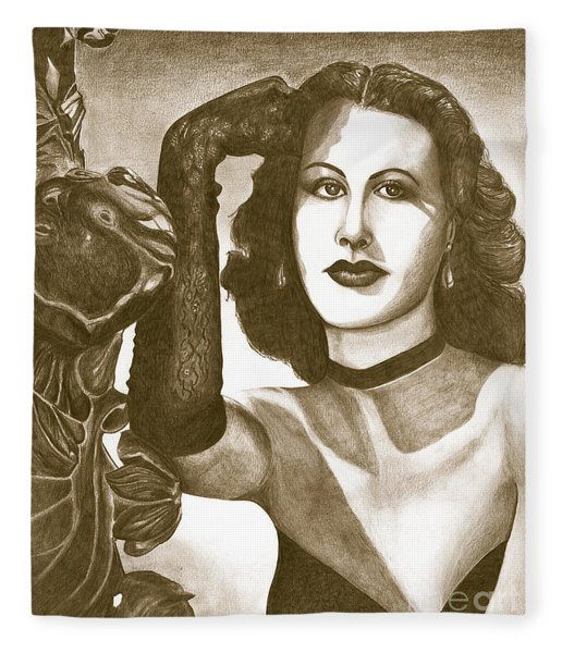 Heddy Lamar Fleece Blanket