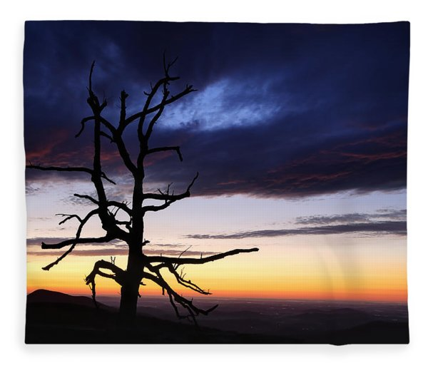 Something Wicked This Way Comes Fleece Blanket