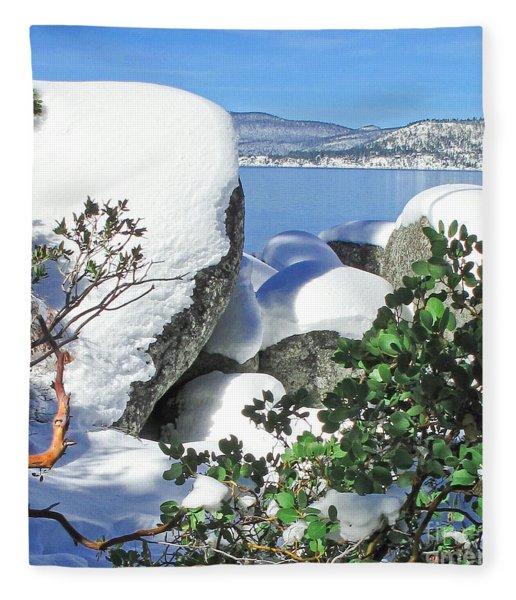 Tahoe Near And Far Fleece Blanket