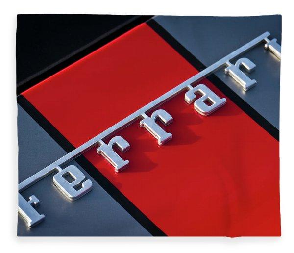 Team Ferrari Fleece Blanket