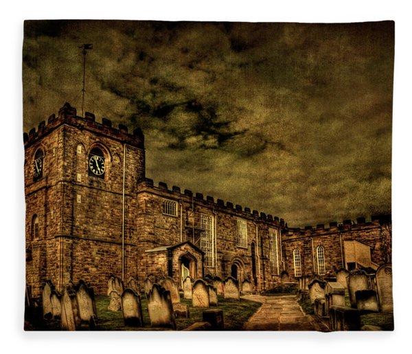 The House Of Eternal Being Fleece Blanket