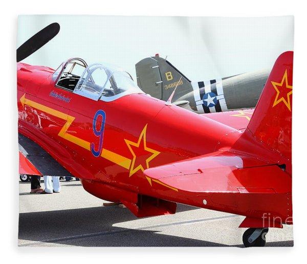 Yak 9u Airplane . 7d15801 Fleece Blanket