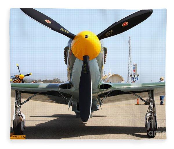 Yak 9u Airplane . 7d15804 Fleece Blanket