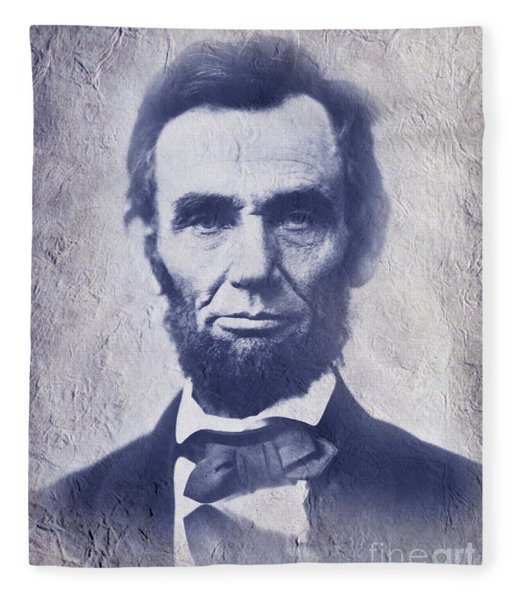 Abraham Lincoln. Fleece Blanket