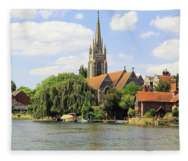 All Saints Church Fleece Blanket