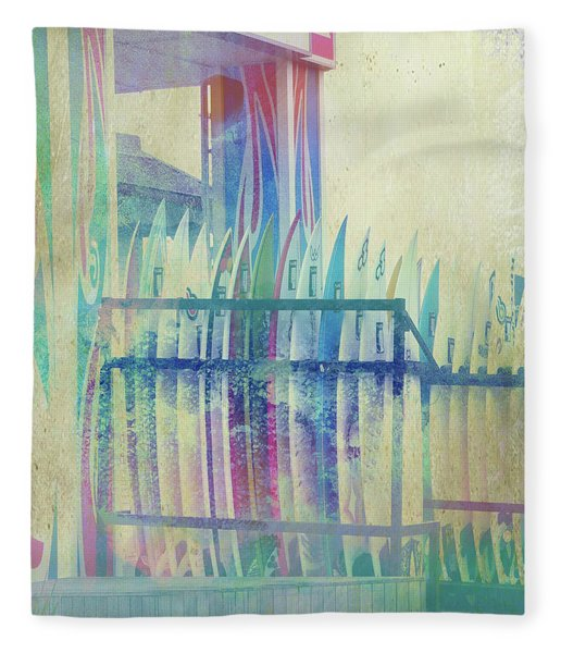 Boardwalk Fleece Blanket