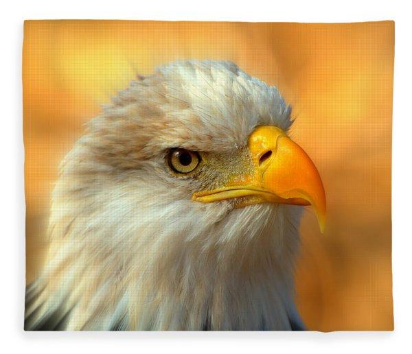 Eagle 10 Fleece Blanket