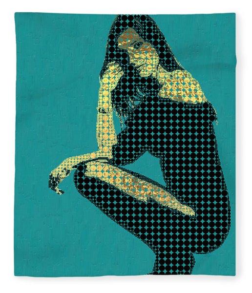 Fading Memories - The Golden Days No.2 Fleece Blanket