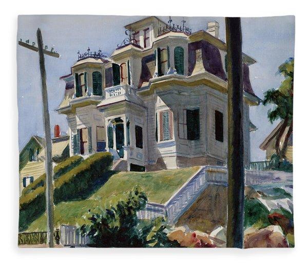Haskell's House Fleece Blanket