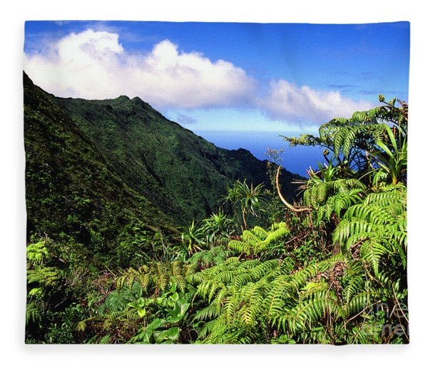 Koolau Summit Trail Fleece Blanket