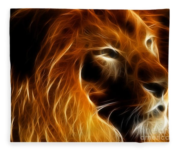 Lord Of The Jungle Fleece Blanket
