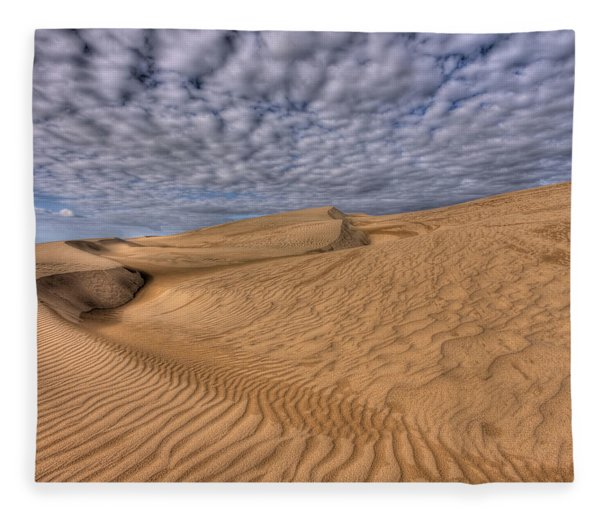 Magic Of The Dunes Fleece Blanket