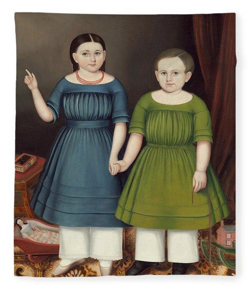 Mary And Francis Wilcox Fleece Blanket
