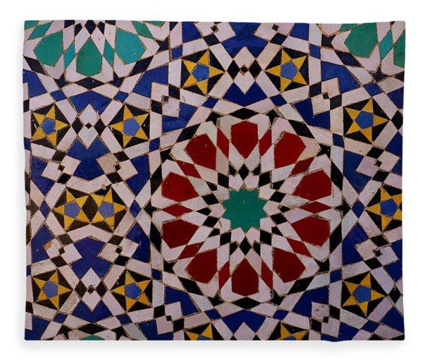 Mosaic Fleece Blanket