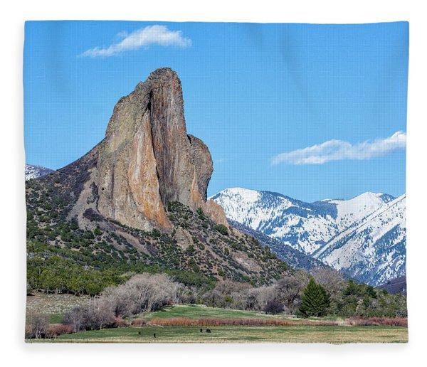 Needle Rock Fleece Blanket