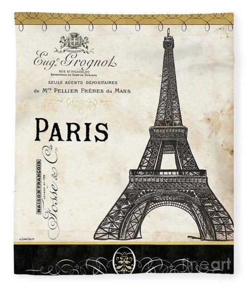 Paris Ooh La La 1 Fleece Blanket