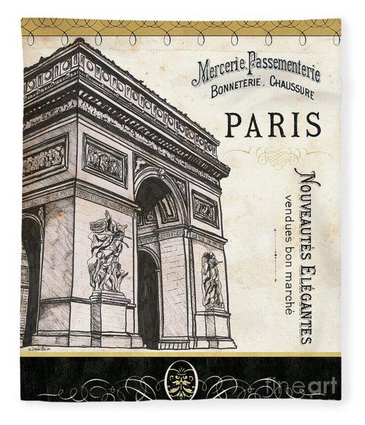 Paris Ooh La La 2 Fleece Blanket