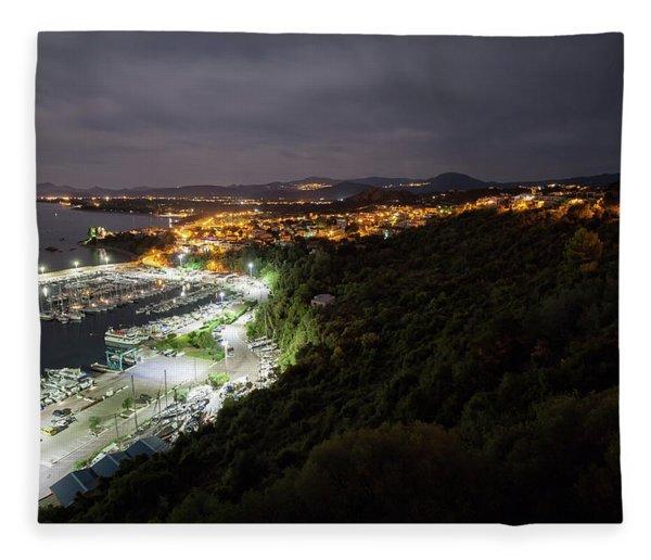 Santa Maria Navarrese Fleece Blanket