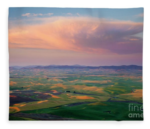 Sunset Storm Fleece Blanket