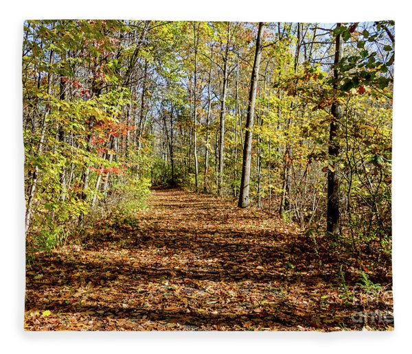 The Outlet Trail Fleece Blanket