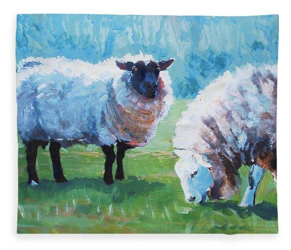 Sheep Fleece Blanket