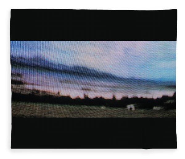 1950's - Navajo Panorama Fleece Blanket