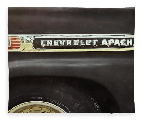 1959 Chevy Apache Fleece Blanket