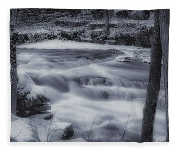 Devils River #1 Fleece Blanket