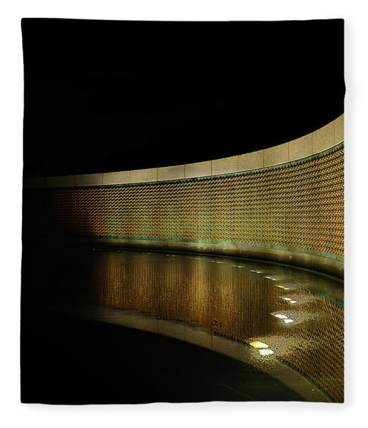 World War II Memorial - Stars Fleece Blanket