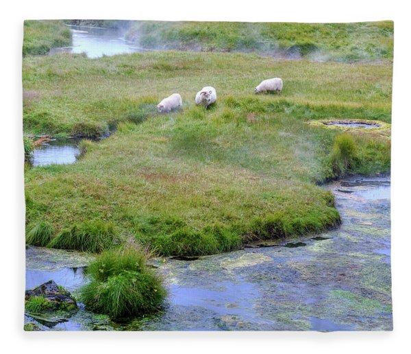 Landmannalaugar - Iceland Fleece Blanket