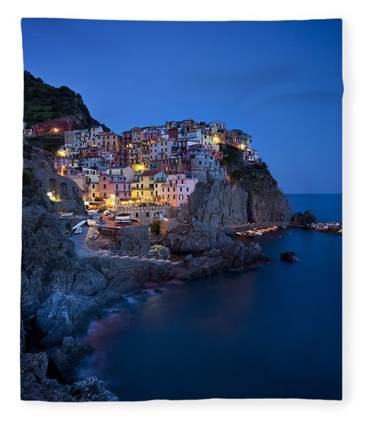 Fleece Blanket featuring the photograph Cinque Terre by Brian Jannsen