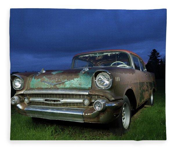 57' Chevrolet Fleece Blanket