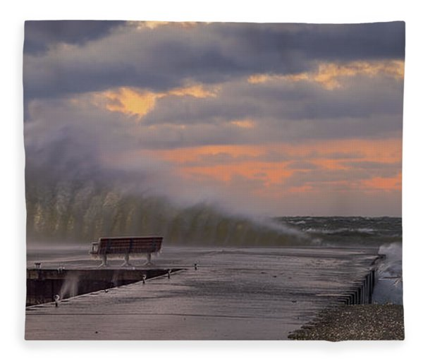 60 Mph Fleece Blanket