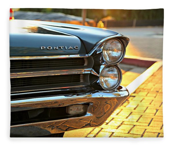'65 Pontiac Fleece Blanket