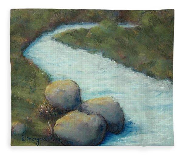 A Cool Dip Fleece Blanket
