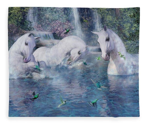 A World Beyond Fleece Blanket
